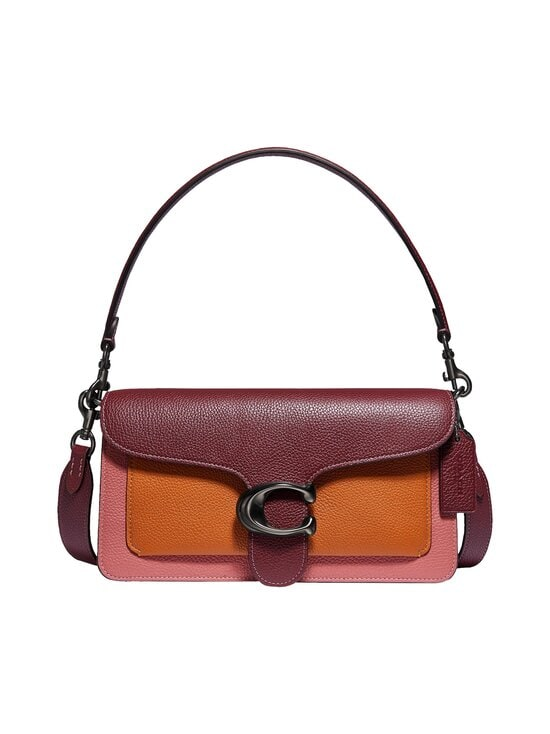 Tabby Shoulder Bag 26 In Colorblock -nahkalaukku