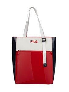 Fila - Block Shopper -laukku - G06 BLACK IRIS-TRUE RED-BRIGHT WHITE | Stockmann