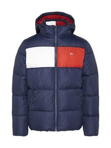 Tommy Jeans - Tjm Colour-Blocked Padded -toppatakki - C87 TWILIGHT NAVY 654-860 | Stockmann