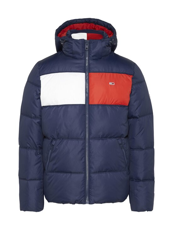 Tommy Jeans - Tjm Colour-Blocked Padded -toppatakki - C87 TWILIGHT NAVY 654-860 | Stockmann - photo 1