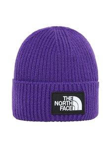 The North Face - Logo Box Cuffed Beanie -pipo - NL41 PEAK PURPLE | Stockmann