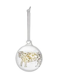 Iittala - Christmas 2021 Cheetah -lasipallo - CLEAR, GOLD | Stockmann