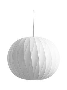 HAY - Nelson Ball Crisscross Bubble Pendant M -riippuvalaisin - WHITE | Stockmann