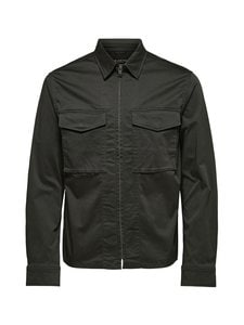 Selected - SlhAdam Zip Jacket -takki - PEAT | Stockmann