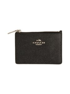 Coach - Mini Skinny ID Case -korttikotelo - BLACK (MUSTA) | Stockmann