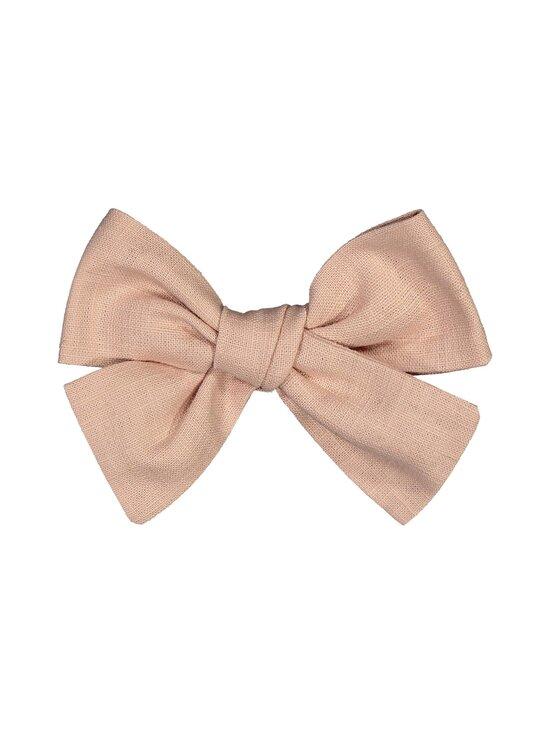 KAIKO - Linen Bow Hairclip -hiussolki - D0 DUSTY PINK | Stockmann - photo 1
