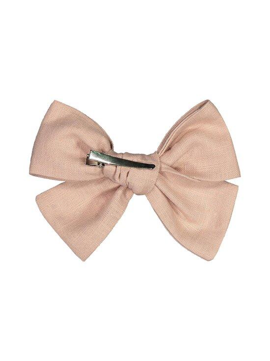 KAIKO - Linen Bow Hairclip -hiussolki - D0 DUSTY PINK | Stockmann - photo 2