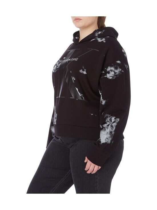 Calvin Klein Jeans Plus - PLUS CLOUD WASHED HOODIE -collegehuppari - BEH CK BLACK | Stockmann - photo 4