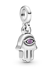 Pandora - My Hamsa Hand Dangle -hela - PURPLE | Stockmann