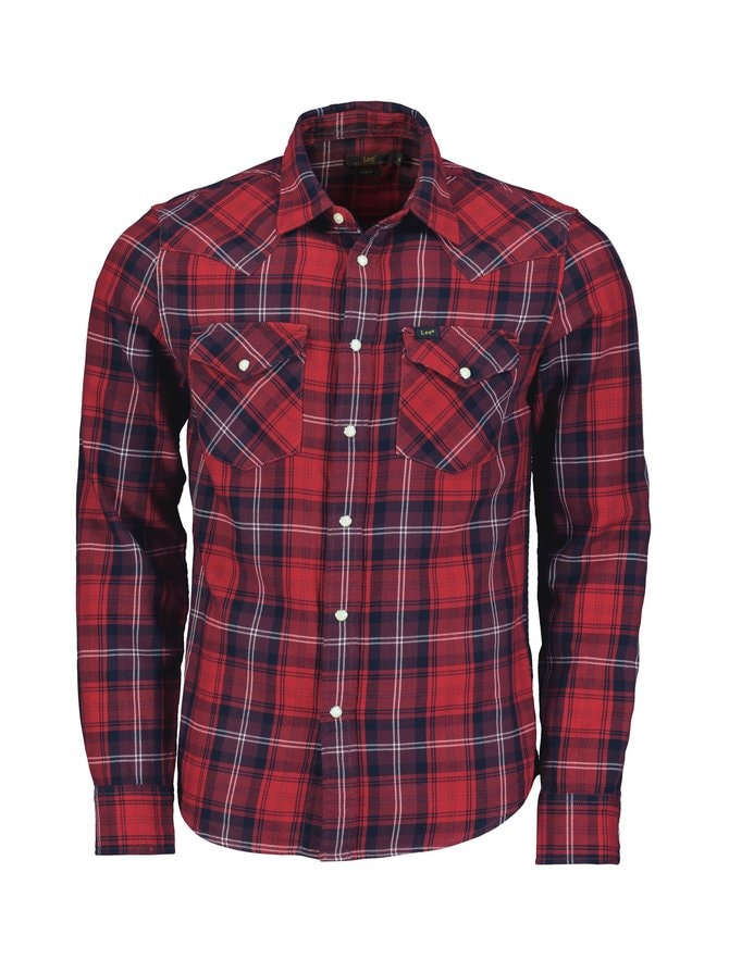 Western Shirt Slim Fit -kauluspaita