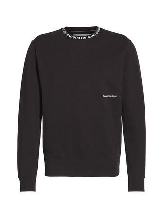 Institutional Collar Crewneck -collegepaita - Calvin Klein Jeans