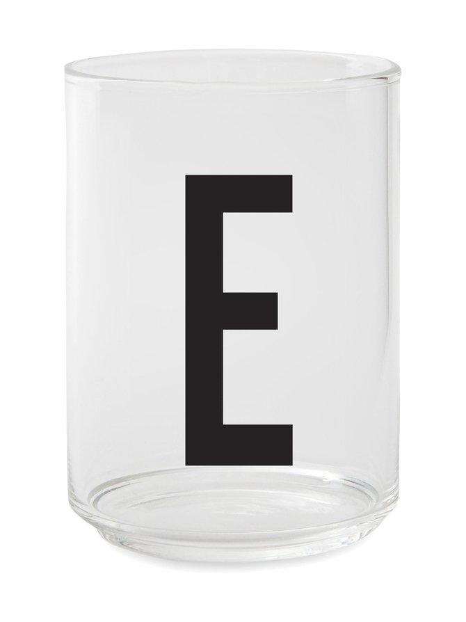 Juomalasi, E