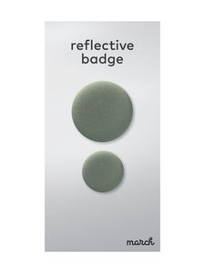 March Design - Oreflector- heijastava rintamerkki 2 kpl - METALLIC GOLD   Stockmann