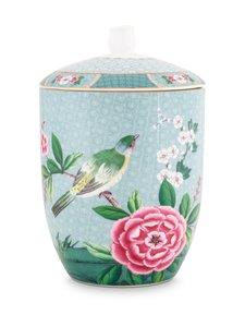 PIP Studio - Blushing Birds -säilytyspurkki 1,5 l - BLUE | Stockmann