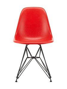 Vitra - Eames DSR Fiberglass -tuoli - 30 BLACK/CLASSIC RED 09 | Stockmann