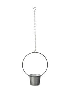 Wikholm Form - Jenna Hanging Pot -amppeli 38 x 54 + 70 cm - ANTIQUE ZINC | Stockmann