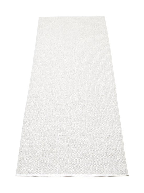 Pappelina - Svea-muovimatto 70 x 240 cm - VALKOINEN/METALLI | Stockmann - photo 1