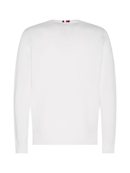 Tommy Hilfiger - Contrasted Chest Logo -puuvillaneule - YBL ECRU | Stockmann - photo 2