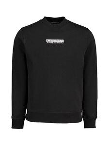 Calvin Klein Jeans - Micro Mirrored Logo Mock Neck -collegepaita - BEH CK BLACK | Stockmann