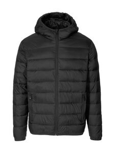 Jack & Jones - JjeMagic Puffer Hood -toppatakki - BLACK | Stockmann