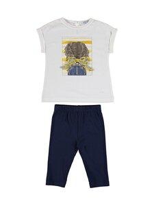 Mayoral - T-paita ja leggingsit - 57 NAVY | Stockmann