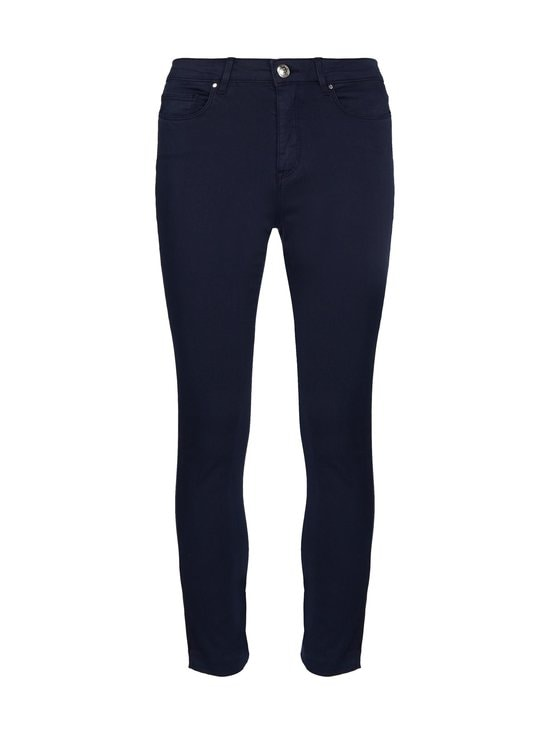 Tommy Hilfiger - Skinny Stretch Cotton Garment Dyed Trousers -housut - DW5 DESERT SKY | Stockmann - photo 1