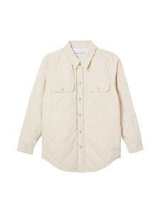 Calvin Klein Jeans - Padded Denim Shirt Jacket -tikkitakki - 1AA DENIM LIGHT | Stockmann