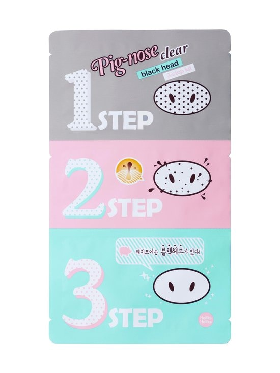 Holika Holika - Pig Nose Clear Blackhead 3-Step Kit -mustapäälaastari - NOCOL | Stockmann - photo 1