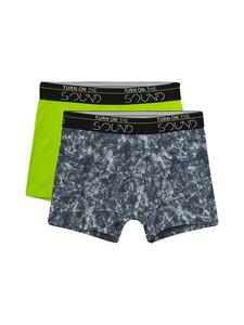 Sanetta - Teens Boy Hipshort Urban Music -alushousut 2-Pack - 5519 BLUE MIRAGE   Stockmann