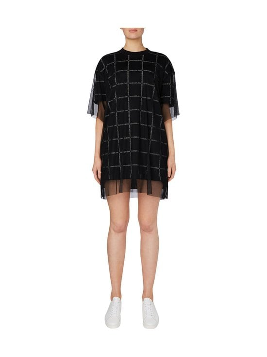 Calvin Klein Jeans - Grid All Over Logo Mesh -mekko - BAE CK BLACK | Stockmann - photo 2