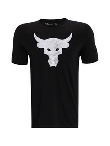 Under Armour - Projeckt Rock Brahma Bull -paita - 001 BLACK / / BLACK | Stockmann