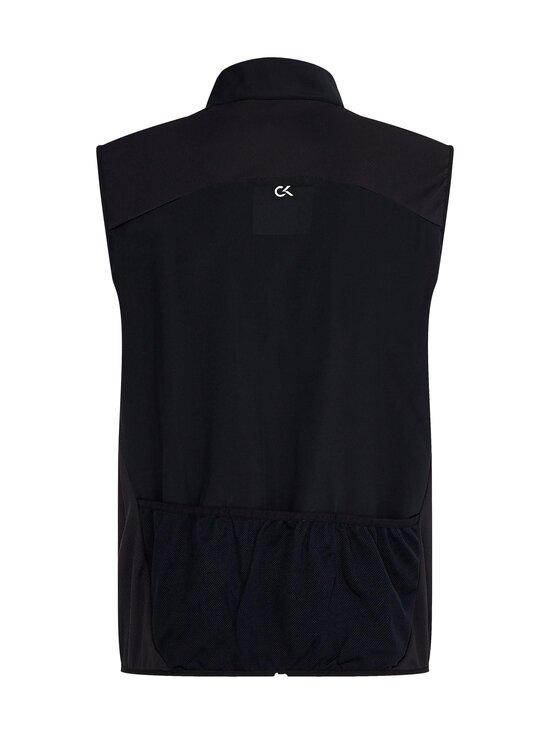 Calvin Klein Performance - Wo - Woven Vest -liivi - BLACK   Stockmann - photo 2