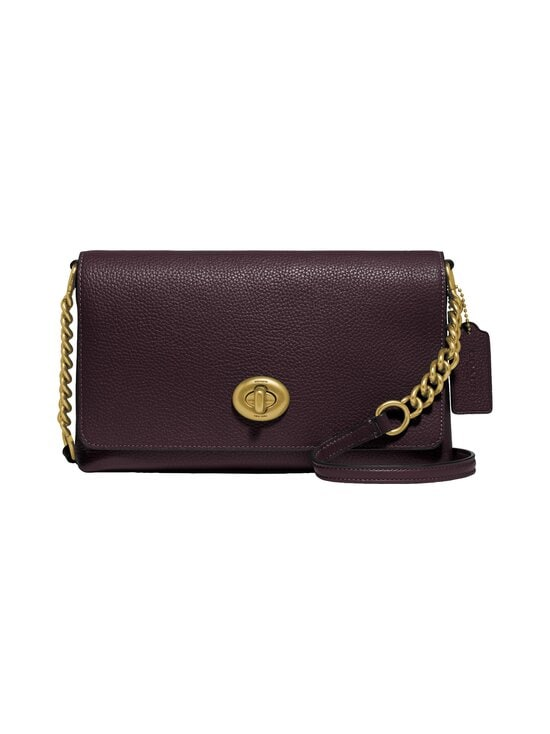 Coach - Crosstown Crossbody -nahkalaukku - B4/OXBLOOD | Stockmann - photo 1