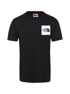 The North Face - M S/S Fine Tee -paita - JK31 TNF BLACK | Stockmann