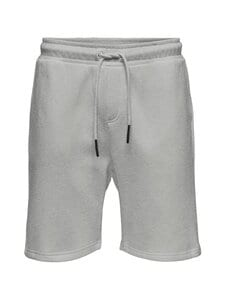 Only & Sons - OnsCeres Life Sweat Shorts -collegeshortsit - LIGHT GREY MELANGE   Stockmann