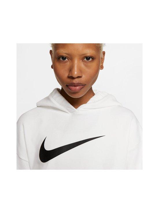 Nike - W Sportswear Swoosh Hoodie -huppari - 100 WHITE/BLACK | Stockmann - photo 5