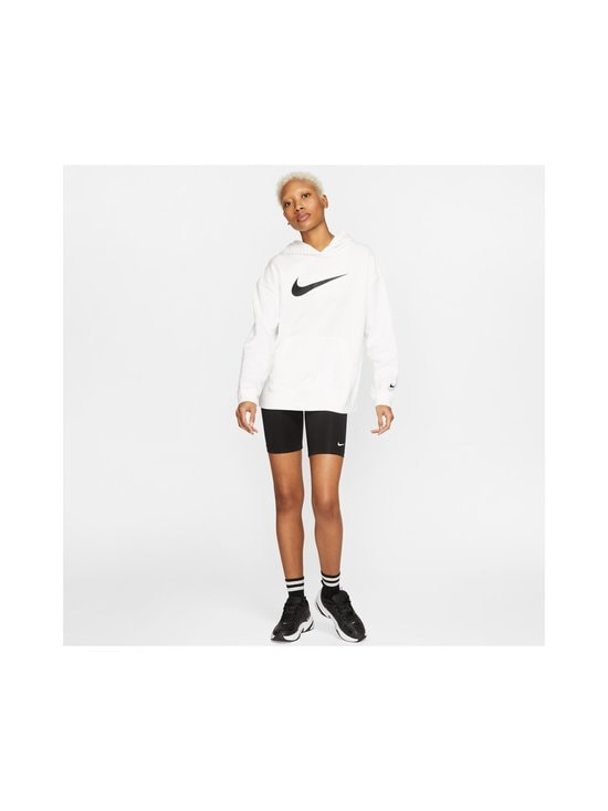Nike - W Sportswear Swoosh Hoodie -huppari - 100 WHITE/BLACK | Stockmann - photo 8