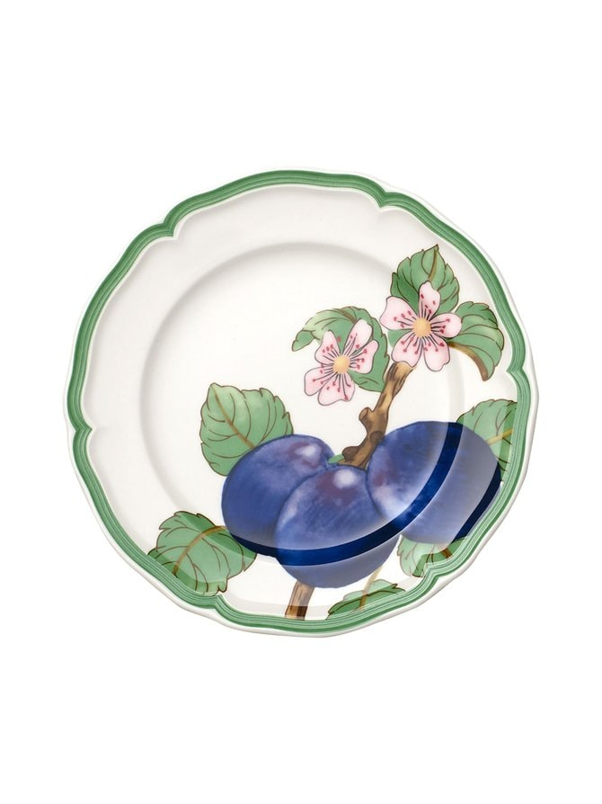 French Garden Modern Fruits Plum -lautanen 21 cm