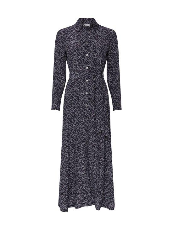 Tommy Hilfiger - All-Over Print Maxi Shirt Dress -mekko - 00P SML BRANDED DIAGONAL PRT DESERT SKY | Stockmann - photo 1