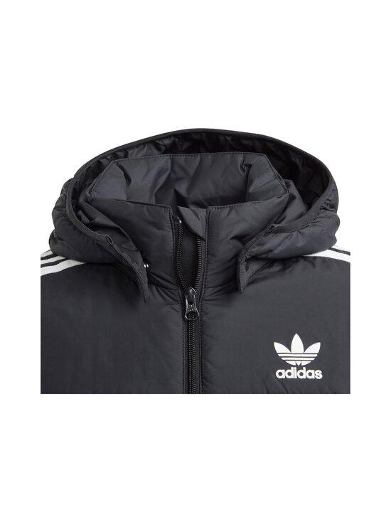 adidas Originals - Padded Jacket -takki - BLACK/WHITE   Stockmann - photo 3