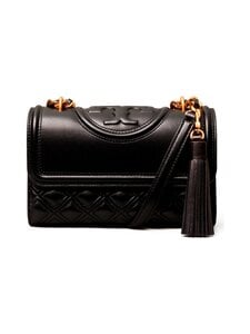 Tory Burch - Fleming Small Convertible Shoulder Bag -nahkalaukku - 001 BLACK   Stockmann