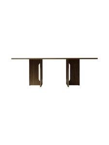 Menu - Androgyne-ruokapöytä 210 x 100 cm - DARK STAINED OAK | Stockmann