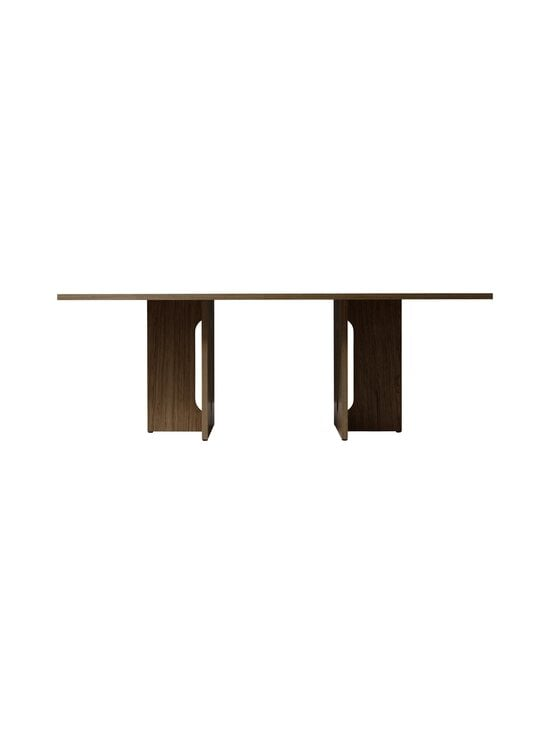 Menu - Androgyne-ruokapöytä 210 x 100 cm - DARK STAINED OAK   Stockmann - photo 1