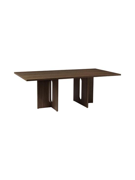Menu - Androgyne-ruokapöytä 210 x 100 cm - DARK STAINED OAK   Stockmann - photo 2