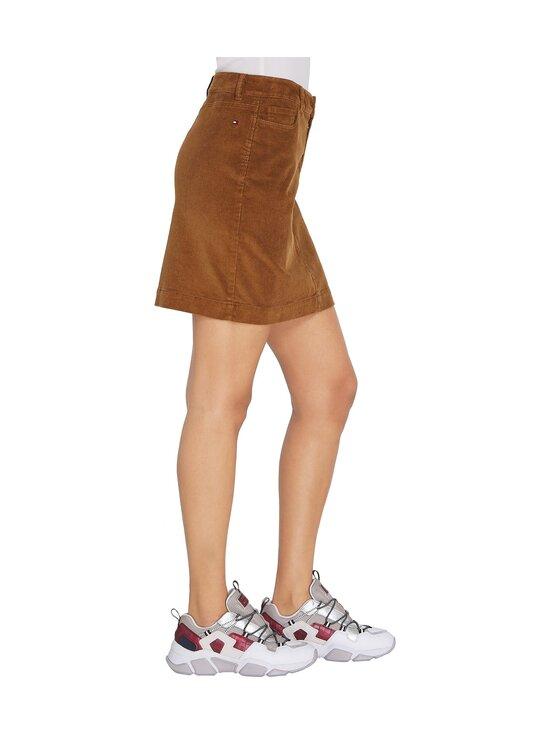 Tommy Hilfiger - Corduroy Mini Skirt -hame - GWP HIGHLAND KHAKI   Stockmann - photo 4