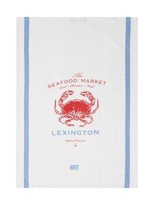 Lexington - Crab Cotton Kitchen Towel -keittiöpyyhe - WHITE/RED | Stockmann
