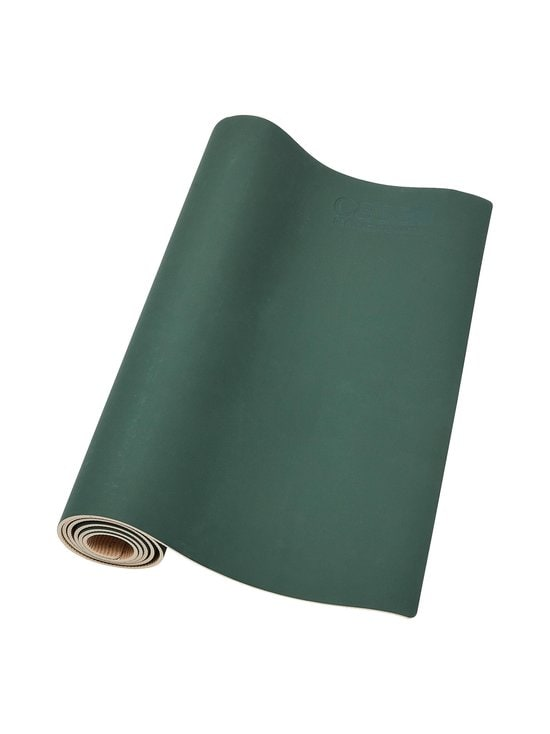 Casall - ECO Yoga Mat Grip&Bamboo -joogamatto 4 mm - 435 GREEN/NATURAL | Stockmann - photo 3