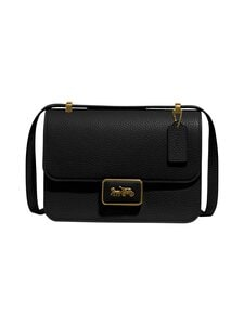 Coach - Alie Shoulder Bag -nahkalaukku - B4/BK B4/BLACK   Stockmann