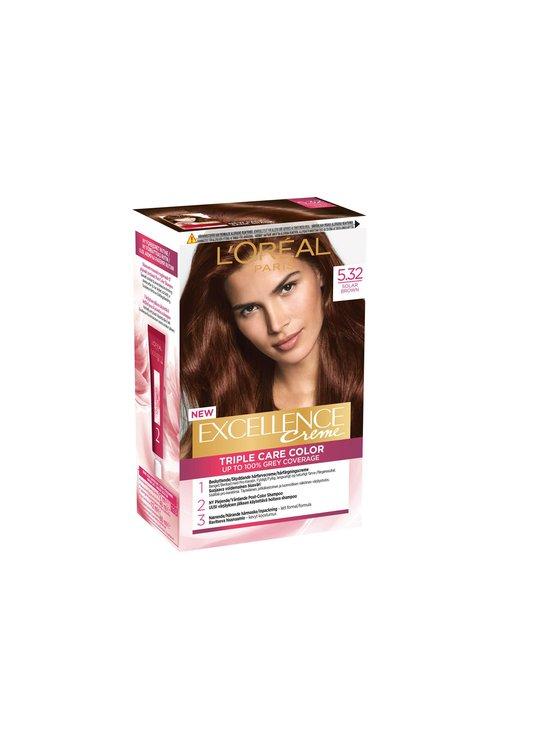 L'Oréal Paris - Excellence Creme -hiusväri - 5.32 SOLAR BROWN | Stockmann - photo 1