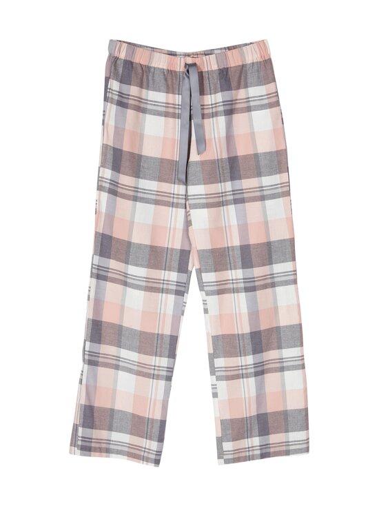 NOOM loungewear - Vera-pyjamahousut - ROSE CHECK COMBO | Stockmann - photo 1